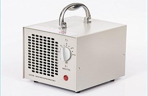 Commercial Ozon-Generator 3500mg 3,5g Industrie Luftreiniger schwarz Parfum (weiß) - 3