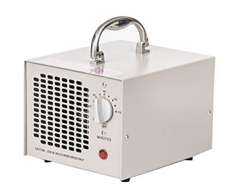 Commercial Ozon-Generator 3500mg 3,5g Industrie Luftreiniger schwarz Parfum (weiß) - 4