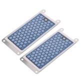 Gazechimp 2 Stk. 5g Ersatz Ozon Keramik-Platte geeigenet für Ozon-generator - Blau - 1