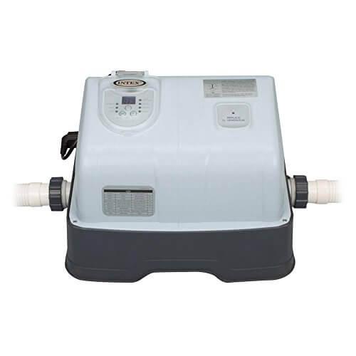 Intex Ozon-/Chlorgenerator Krystal Clear Salzwassersystem, Ozon Desinfektion, grau, 125 W / 230 V - 1