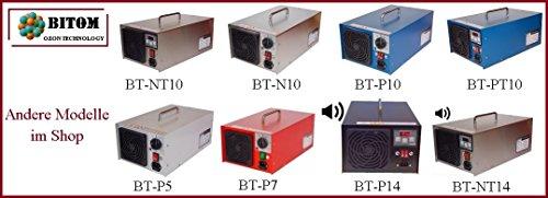 Ozongenerator Beratung Test Vergleich Profi Gerät ! INOX Ozongenerator 10000mg/h 10g Timer für Luft Ozongerät Ozon. BT-N10 - 5