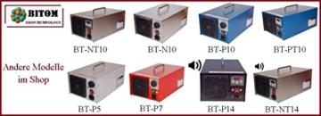 ! Profi Gerät ! Ozongenerator 7000mg/h 7g LCD-Timer für Luft / Klima Ozongerät. BT-P7 - 5