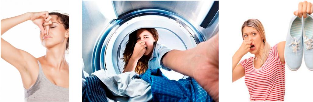 Wäsche stinkt Klamotten stinkt muffelt Hilfe durch Ozongenerator