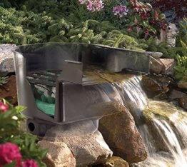 Teich Wasserfall 43cm breit incl.Filtersystem Bachlauf Teichfilter - 1